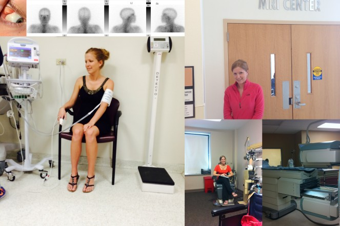 The lead up -- Gallium Scan, MRI, Multiple Exams (neuro-opthalmologist, oculoplastics dr), and an anesthesiologist consult
