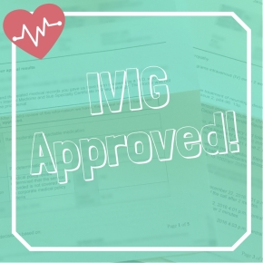 Insurance Finally Approved IVIG!